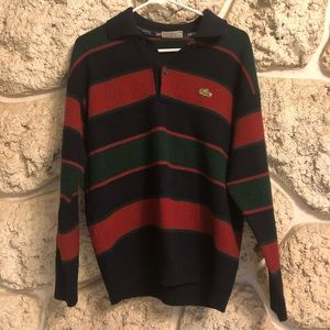 Vintage Lacoste sweater polo